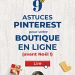 Noël sur Pinterest pour les E-commerçants