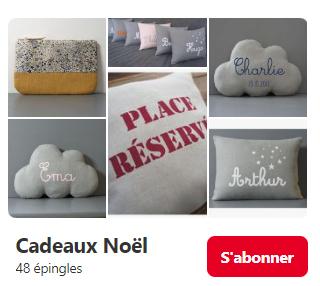 """Tableau """"Cadeaux Noël"""""""