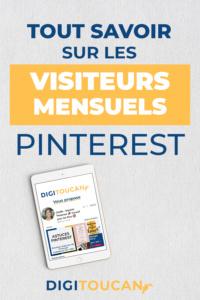 Les visiteurs mensuels sur Pinterest : pourquoi je ne veux plus en entendre parler