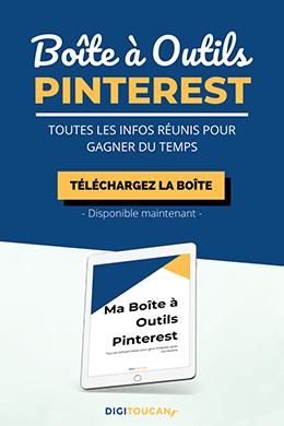 Boîte à outils pour Pinterest - Digitoucan