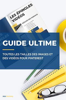 Guide des dimensions des images et vidéos pour Pinterest - Digitoucan