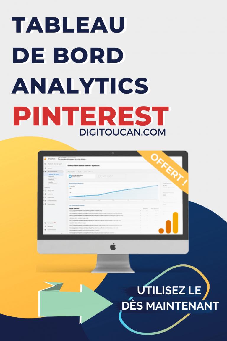 Statistiques Pinterest avec Google Analytics