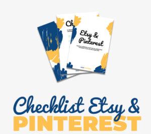 Checklist Pinteret pour Etsy par Digitoucan.com