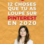 Que Retenir De Pinterest En 2020