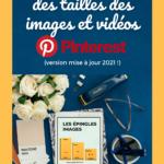 Guide Des Tailles Des Images Sur Pinterest