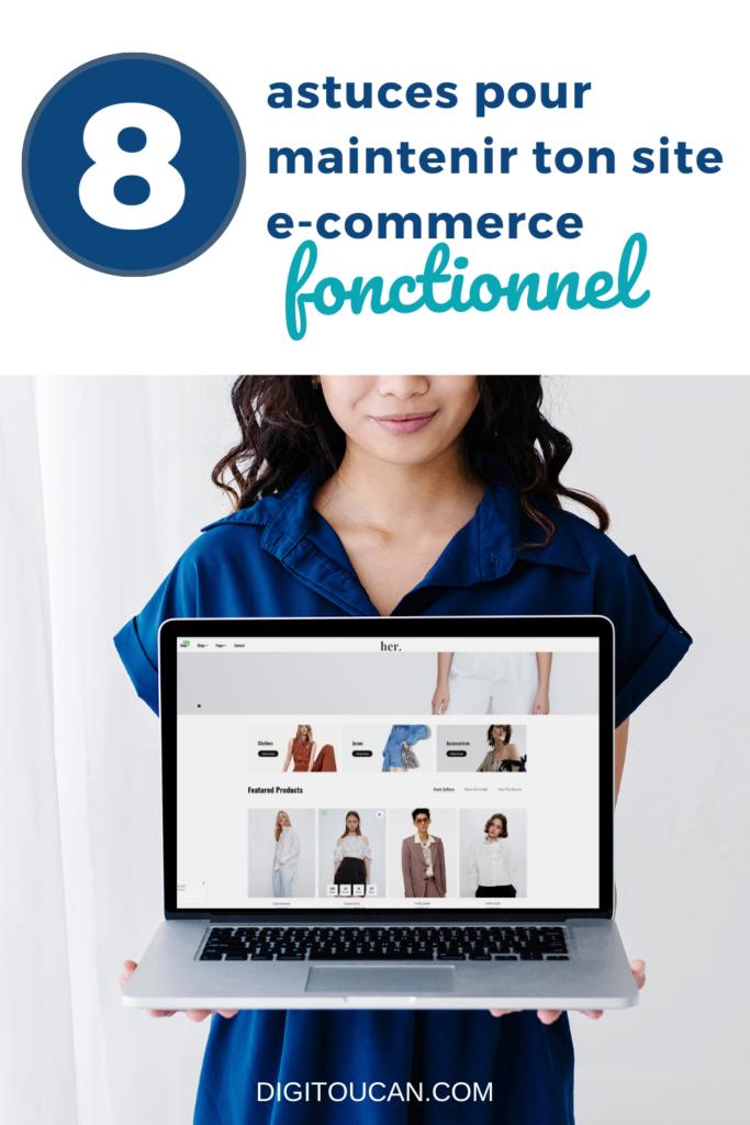 Maintenir Son Site E Commerce