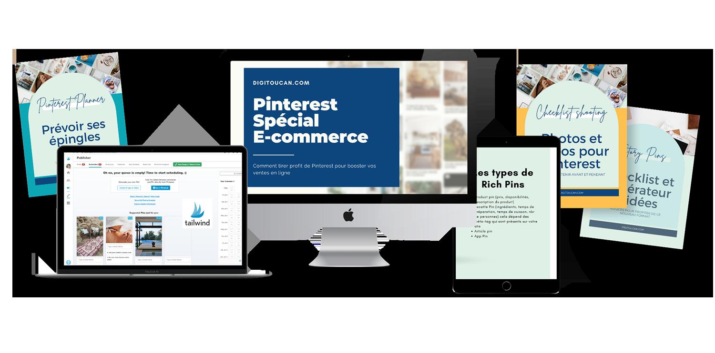 Formation Pinterest Ecommerce Digitoucan Offre Prélancement