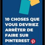 Masterclass Pinterest Gratuite Vendre Ecommerce